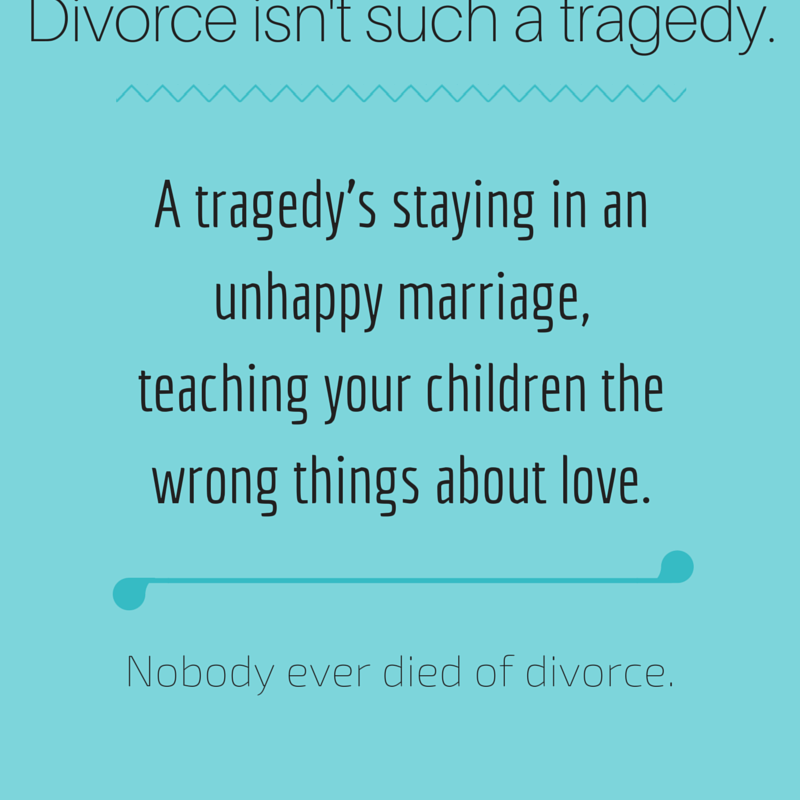 inspirational words for divorce