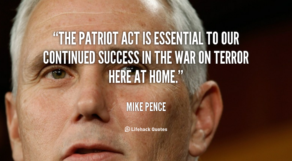 the patriot act of the united states