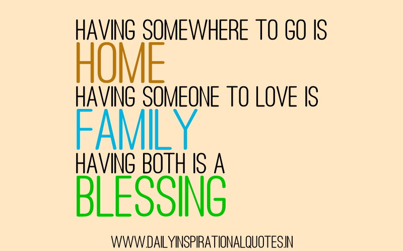 Quotes About Home Or Family 33 Quotes