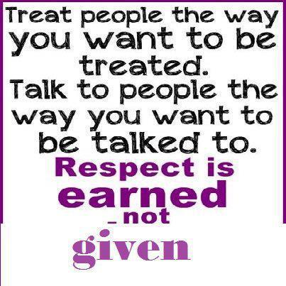 how to talk with respect