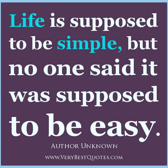 Quotes About Simplicity In Life 60 Quotes New Simple Quotes About Life