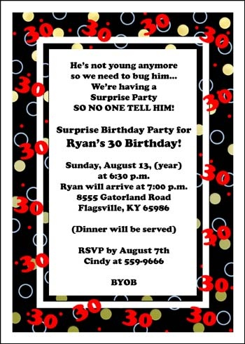 Quotes about surprise party 49 quotes e hes not young anymore so we need to bug we re having a surprise party filmwisefo