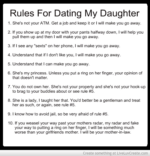 5 phone rules dating