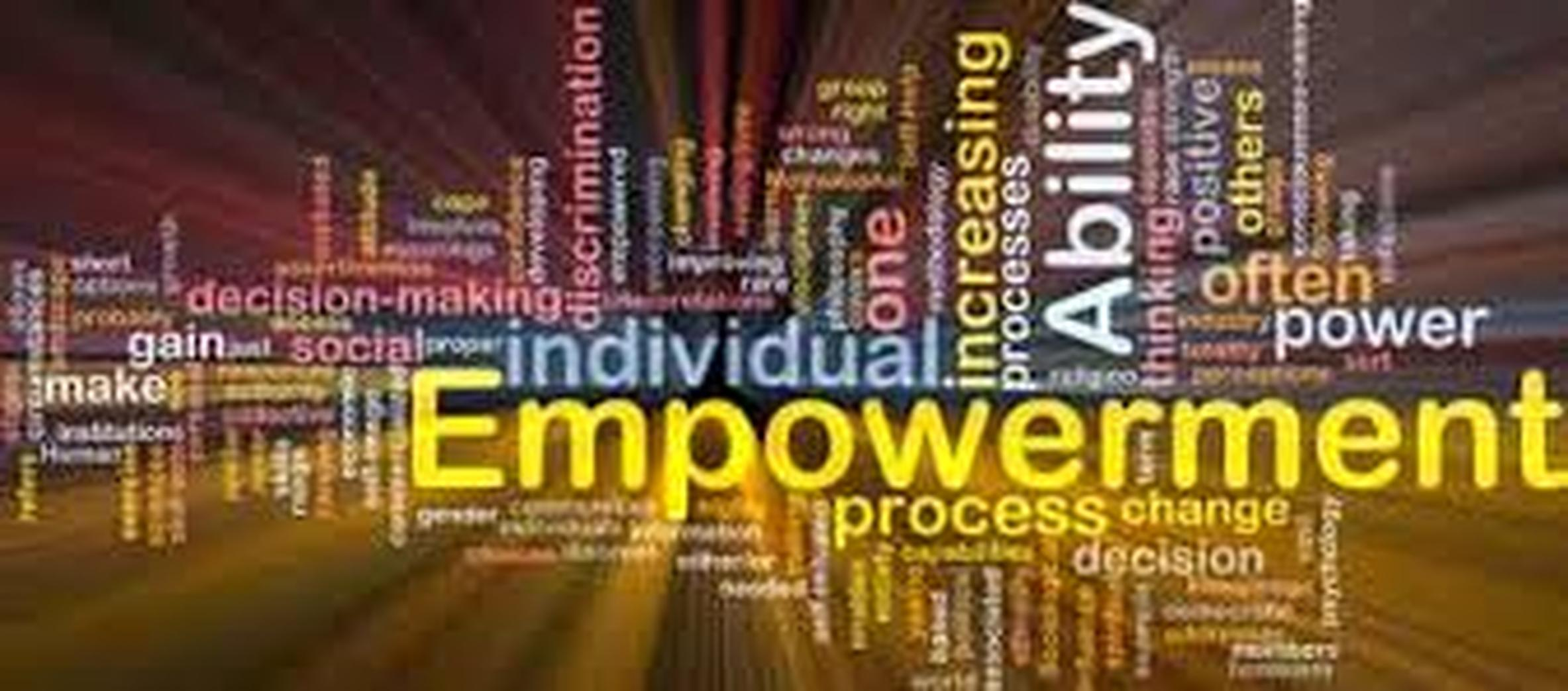 what does empowerment mean in social work