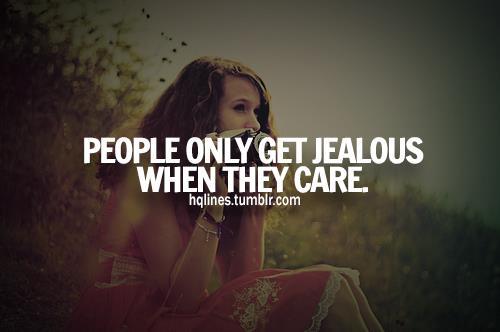when a girl is jealous