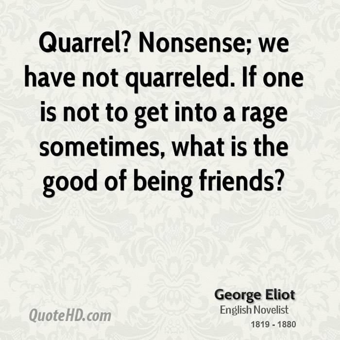 Quarrel quotes