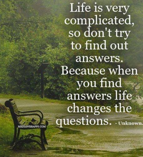 """life is so complicated """"life is easy we humans make it complicated why do we humans make it so complicated vivo coaching offers leadership development & executive coaching."""