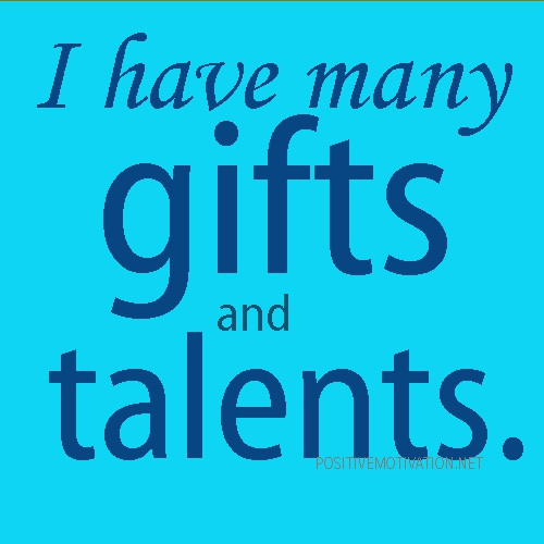 Quotes about Gifts and talents (74 quotes)