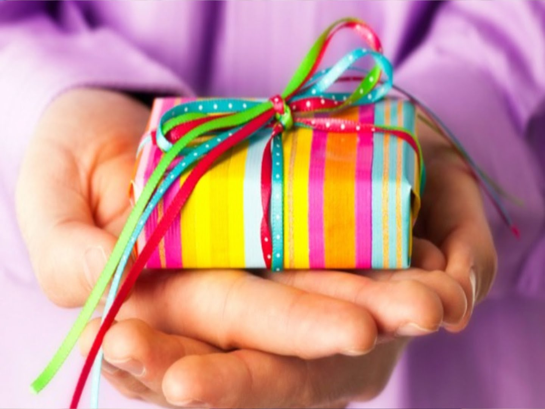 Мне дорог любой подарок 821