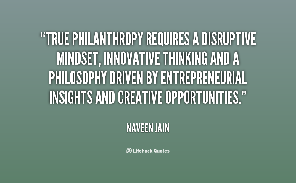 Quotes About Philanthropy 60 Quotes Fascinating Philanthropy Quotes