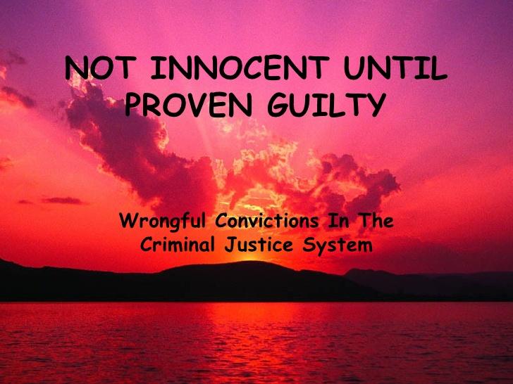 guilty or innocent essay