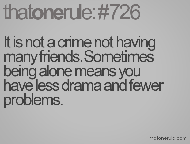 quotes about not having friends