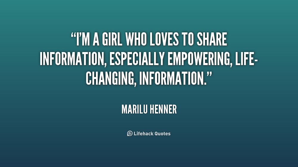 quotes about sharing information 45 quotes