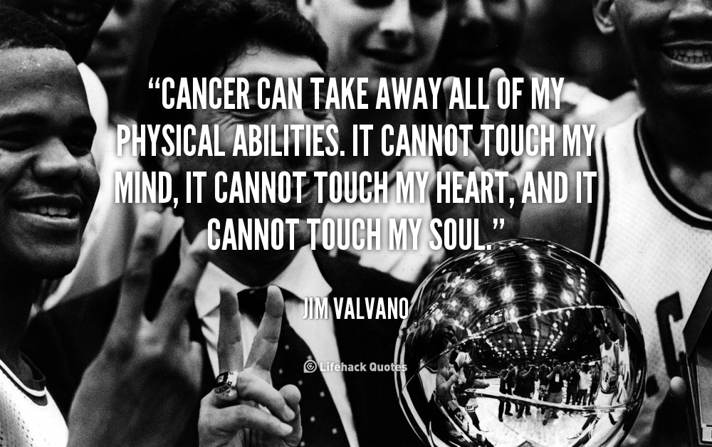 Jimmy V Quotes | Quotes About Cancer Free 55 Quotes