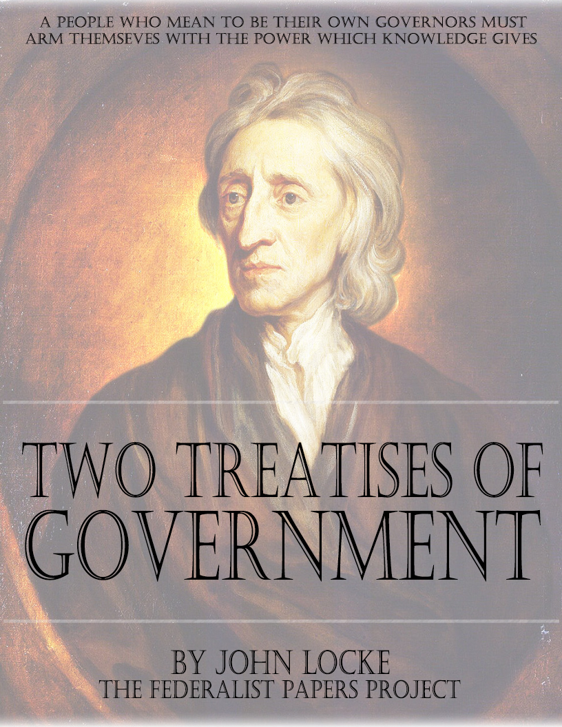 second treatise government thesis The second treatise on government print second treatise on government john locke mar-apr 1998 web 15 oct 2009 second treatise on government.