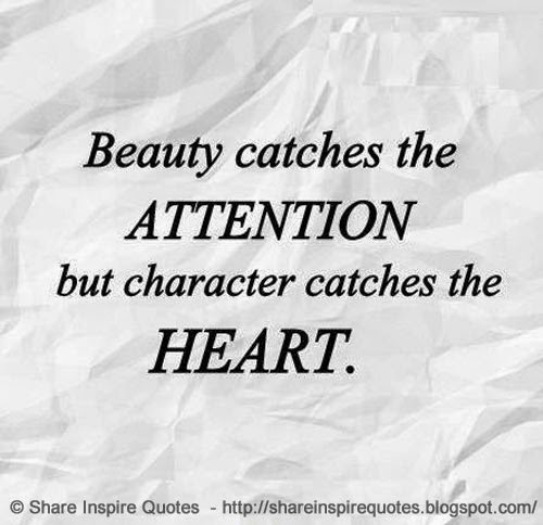 Beauty Vs Intelligence Quotes: Quotes About Beauty Character (61 Quotes