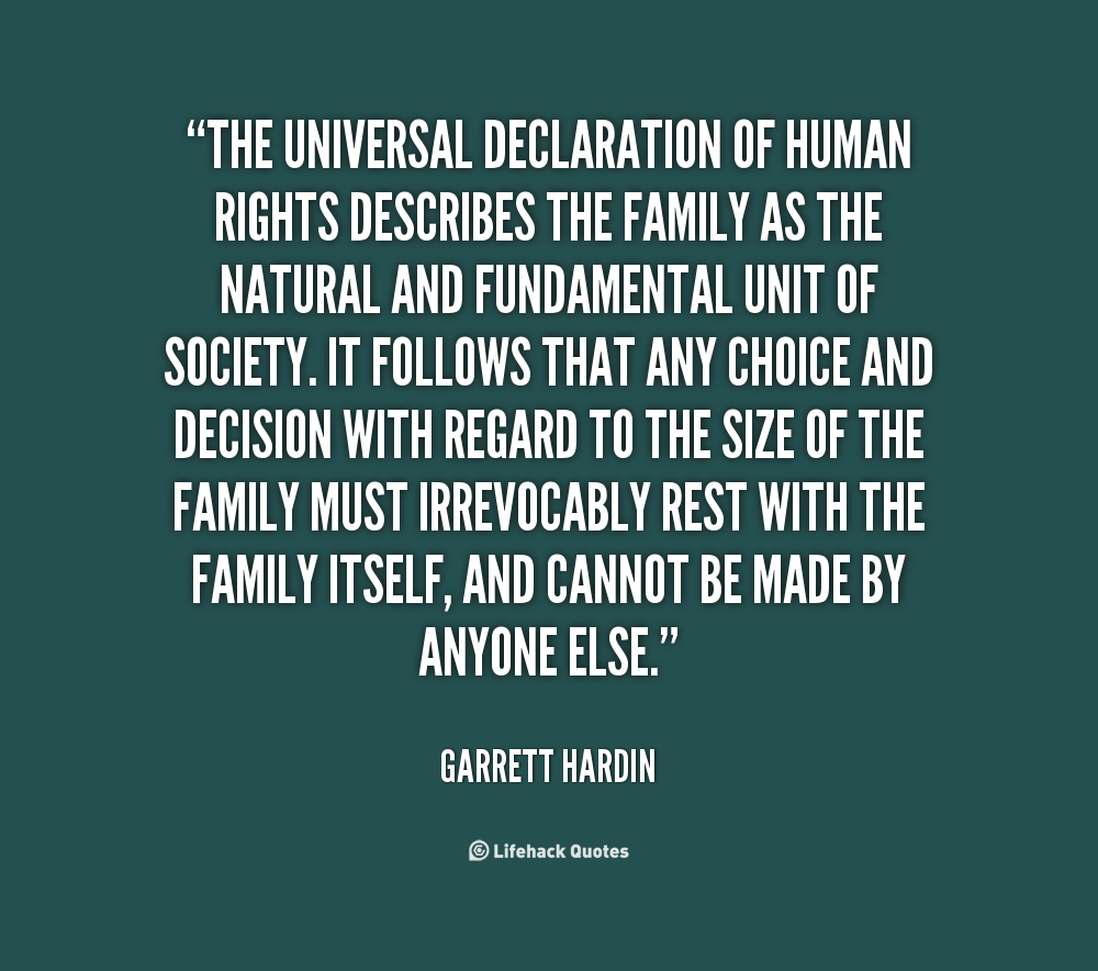 universally accepted declaration of human rights