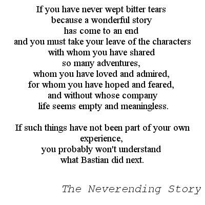 neverending story turning points essay Three turning points in my life, so far essaysthe three turning points in my life, so far although most people think that twenty-one years is not that long for someone to have lived, there have already been three turning points in my life that helped make me the person that i am today.