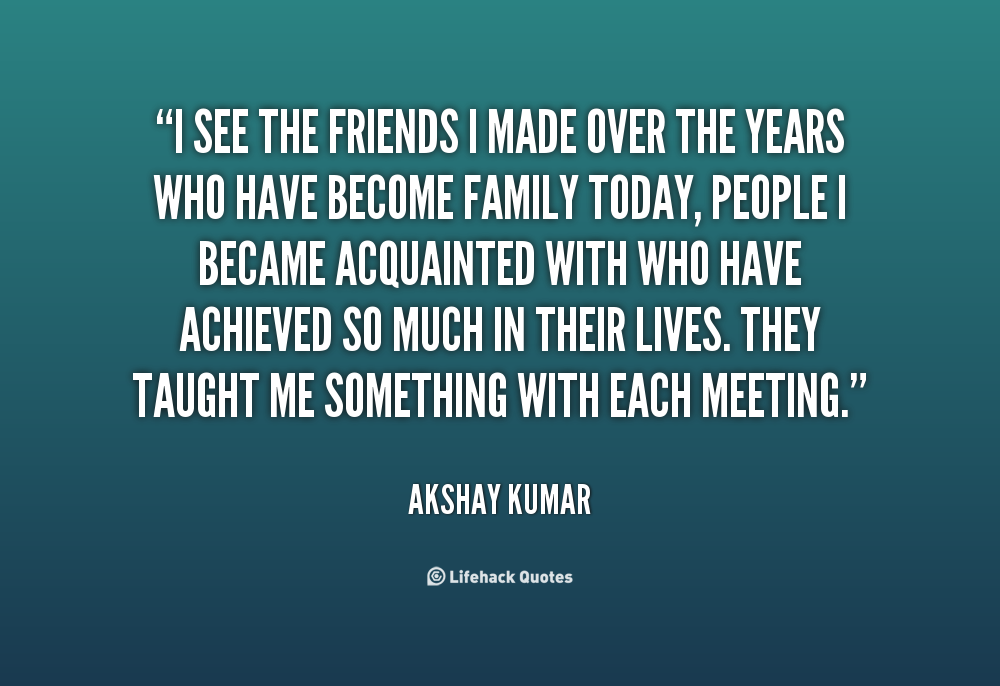 Quotes About Family Over Friends 62 Quotes