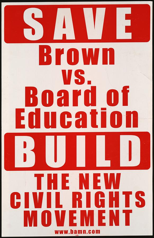 an analysis of brown vs board of education of topeka Race and school quality since brown v board of education  court decision brown v board of education of topeka, kansas, in 1954 greatly curtailed the states'  the brown v board of.