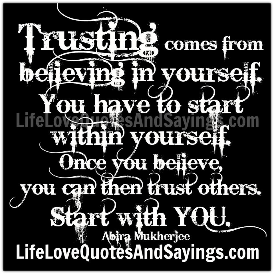 Believing In Yourself Quotes   Quotes About Believing In Others 52 Quotes