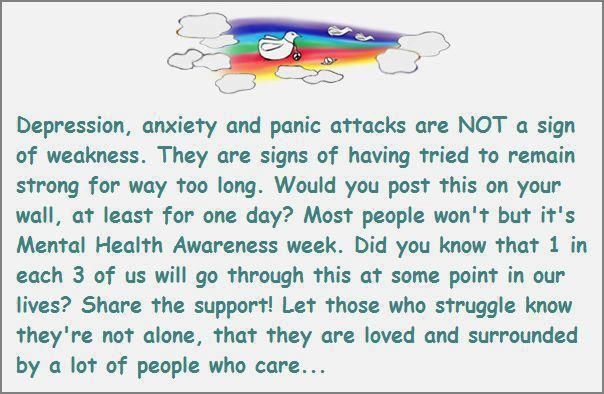 Wordpress Helpful Non Depression Anxiety And Panic Attacks Are NOT A Sign Of Weakness They Signs