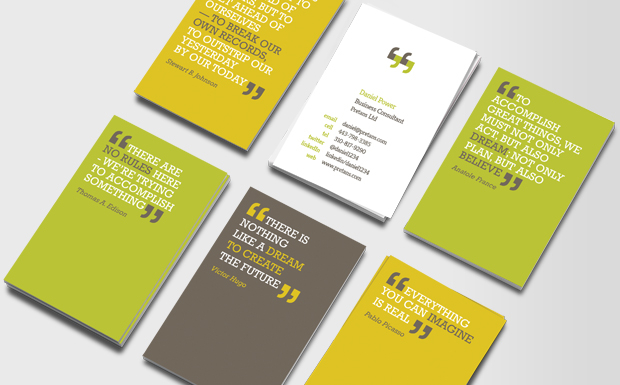 Short Quotes For Business Cards