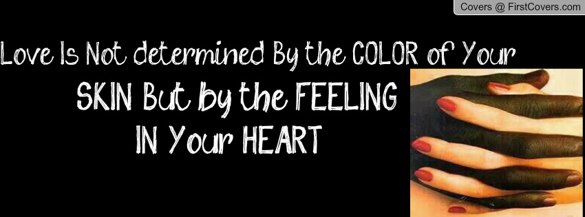 Is love colorblind
