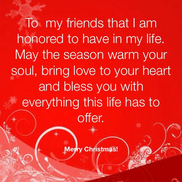 quotes about christmas family and friends - Merry Christmas To My Best Friend