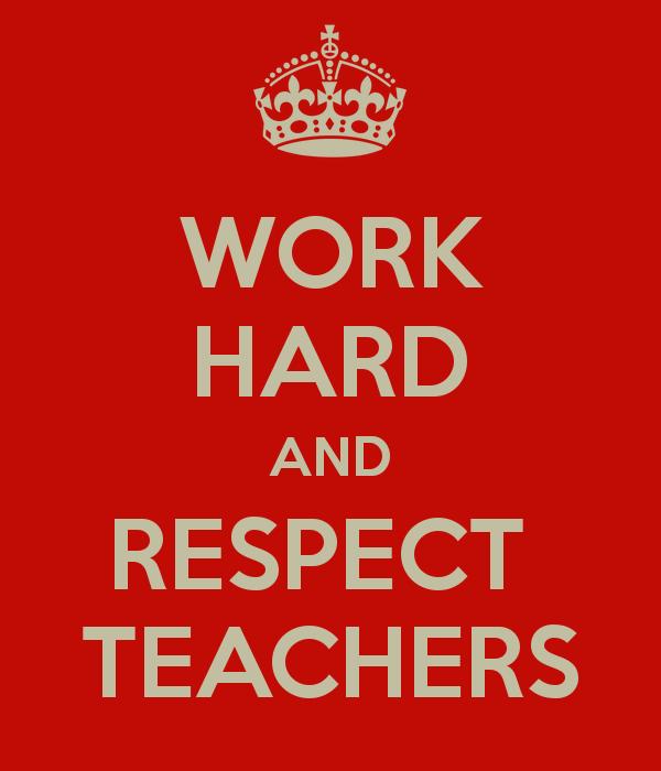 student respect for teachers essay