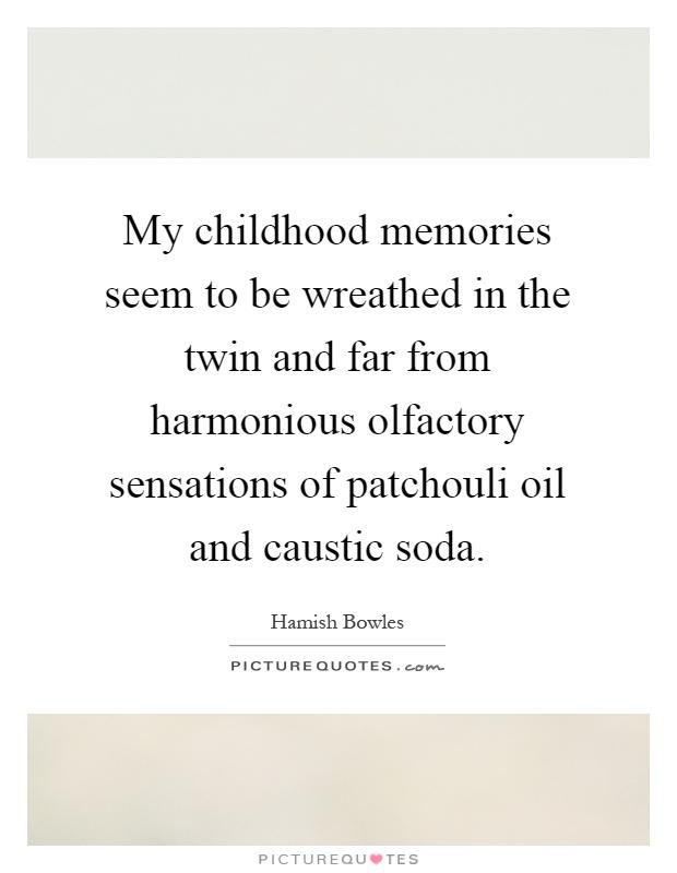childhood memory 2 essay