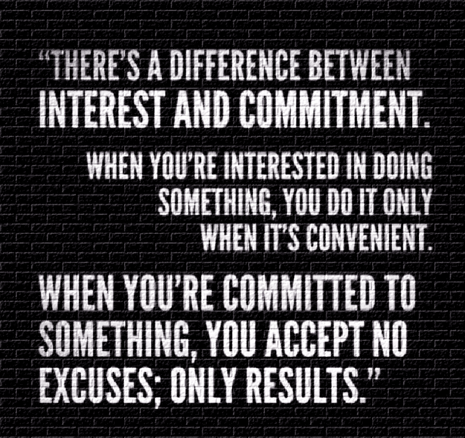 Quotes About Effort And Commitment 37 Quotes