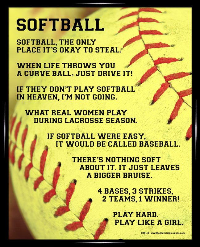 Quotes About Softball 110 Quotes