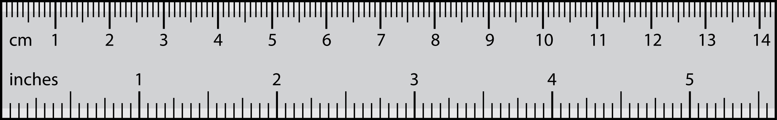 picture relating to Printable Ruler Inches and Centimeters Actual Size named Centimeters, Toes and Inches Conversion (cm, toes and inside of