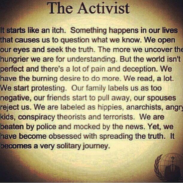 Activism Quotes: Quotes About Activist (208 Quotes