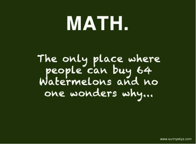 Math number quotes