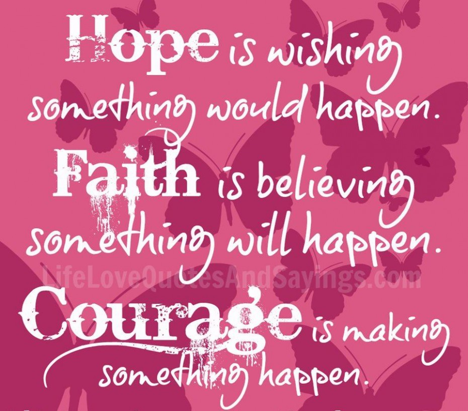 Quotes About Hope Life And Love 67 Quotes