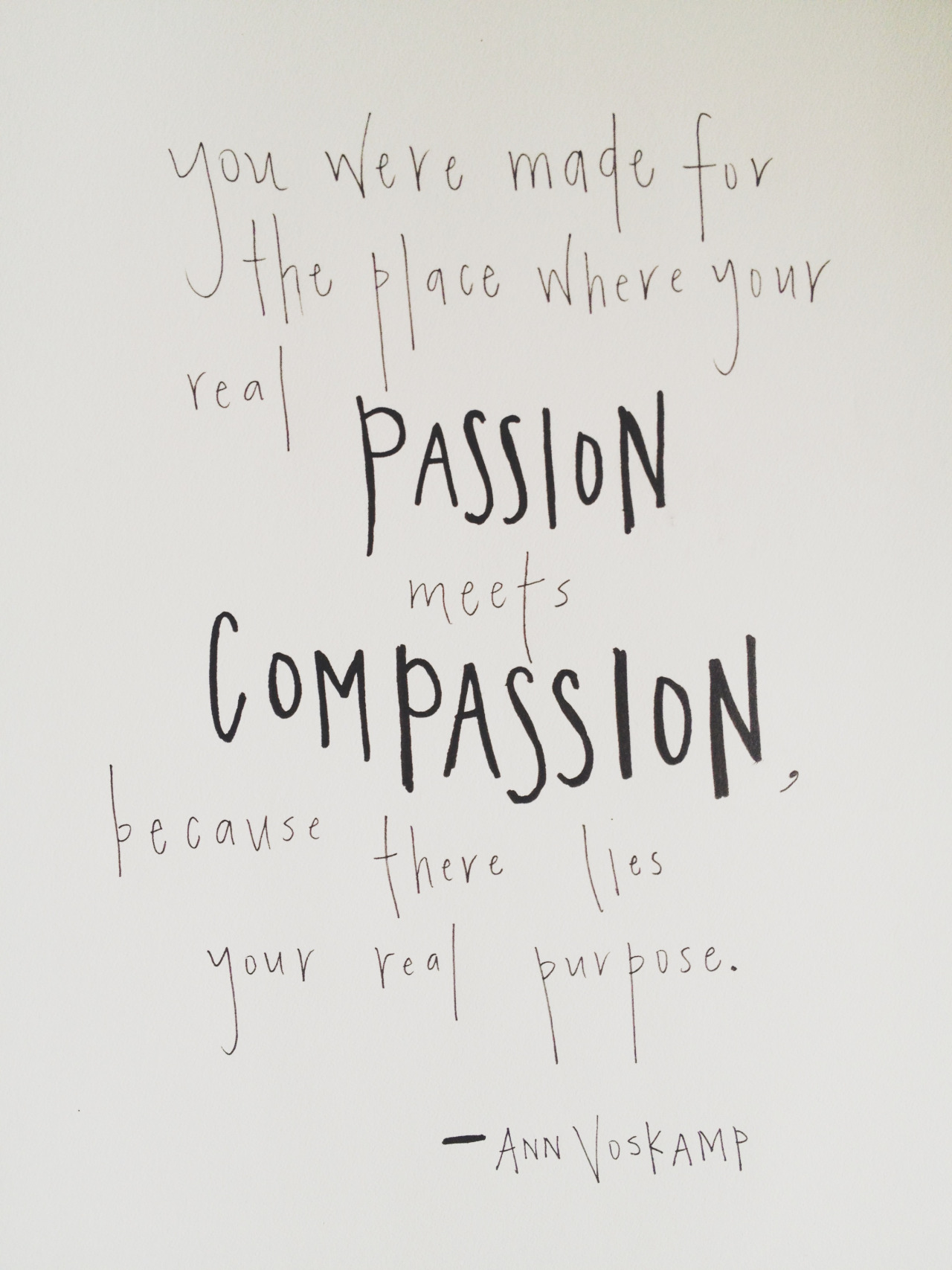 passion who really needs it essay