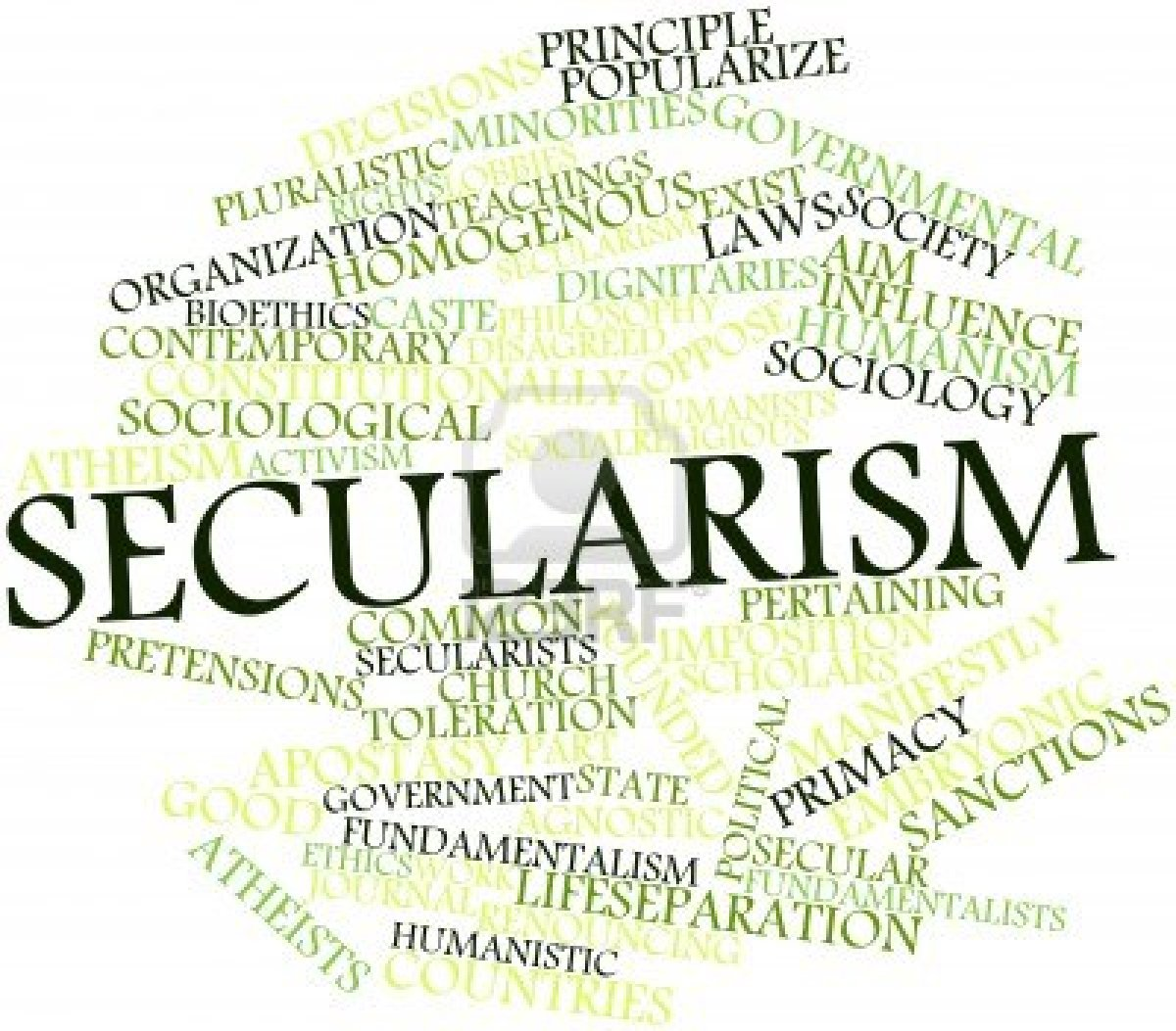 secularism asserts the right to be I agree with holyoake, secularism is not anti-religion it is an alternative to religion that asserts the right of all to believe and think as we wish, including the rejection or acceptance of religion and secularism.