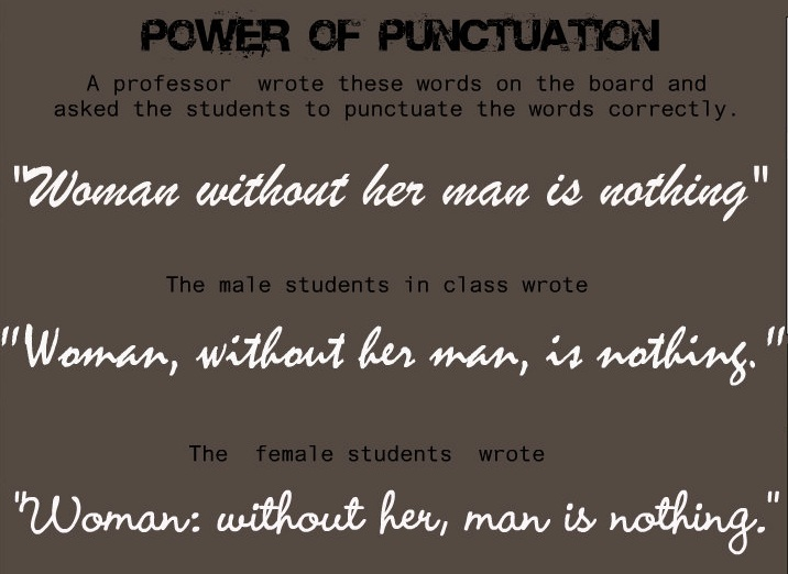 tv show essay punctuation Punctuation marks news i offer the following five rules of writing flashbacks: but i can't think of a tv show i've seen that didn't use flashbacks at.