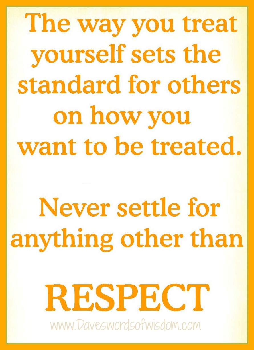 the meaning of respect for others