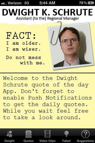 The Office Birthday Quotes Dwight