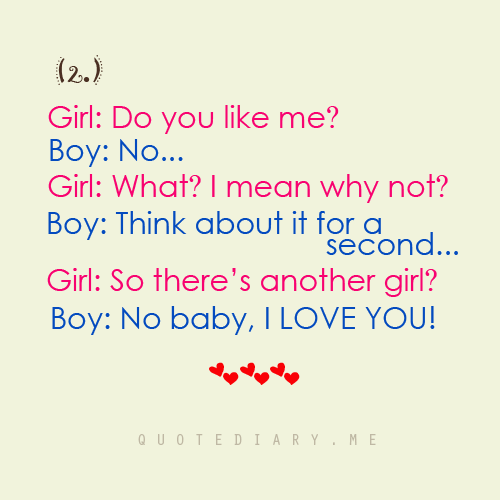 what you like about a girl