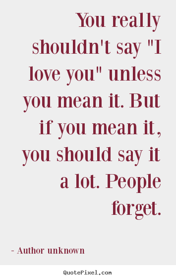 What does love stand for quotes