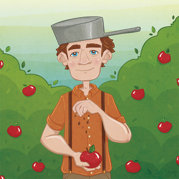an introduction to the life of johnny appleseed Johnny appleseed recipes and crafts - inner child food find this pin and more on kindergarten kolleagues by alynknight johnny appleseed - crafts & recipes to make with the kids march is johnny appleseed day explore the holiday with these great craft and recipe ideas and introduce your kids to an american legend.
