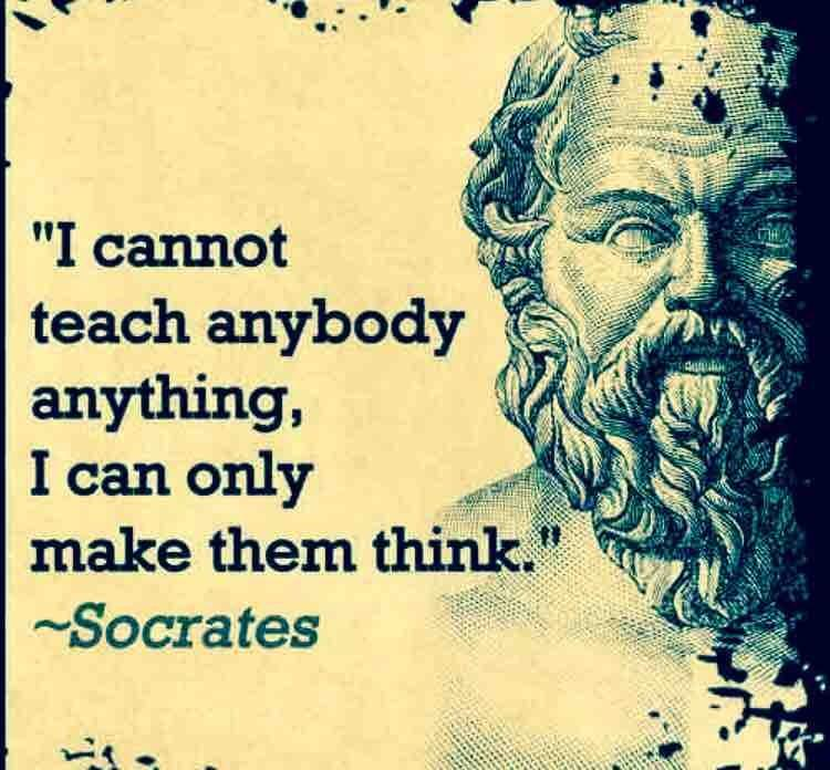 evaluating socrates argument that philosophy cannot be taught Can virtue be taught socrates, concludes that virtue cannot be taught and are still being taught the argument of 'inborn.