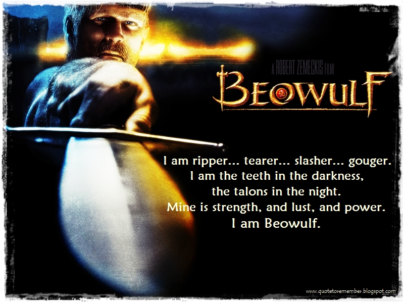 beowulf fate quotes