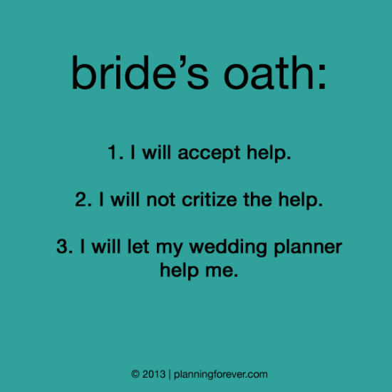 Stressed Bride Quotes | Wedding Ideas