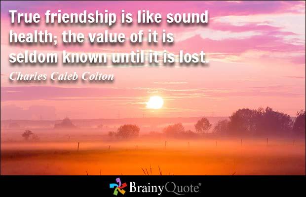 Essay About True Friendship