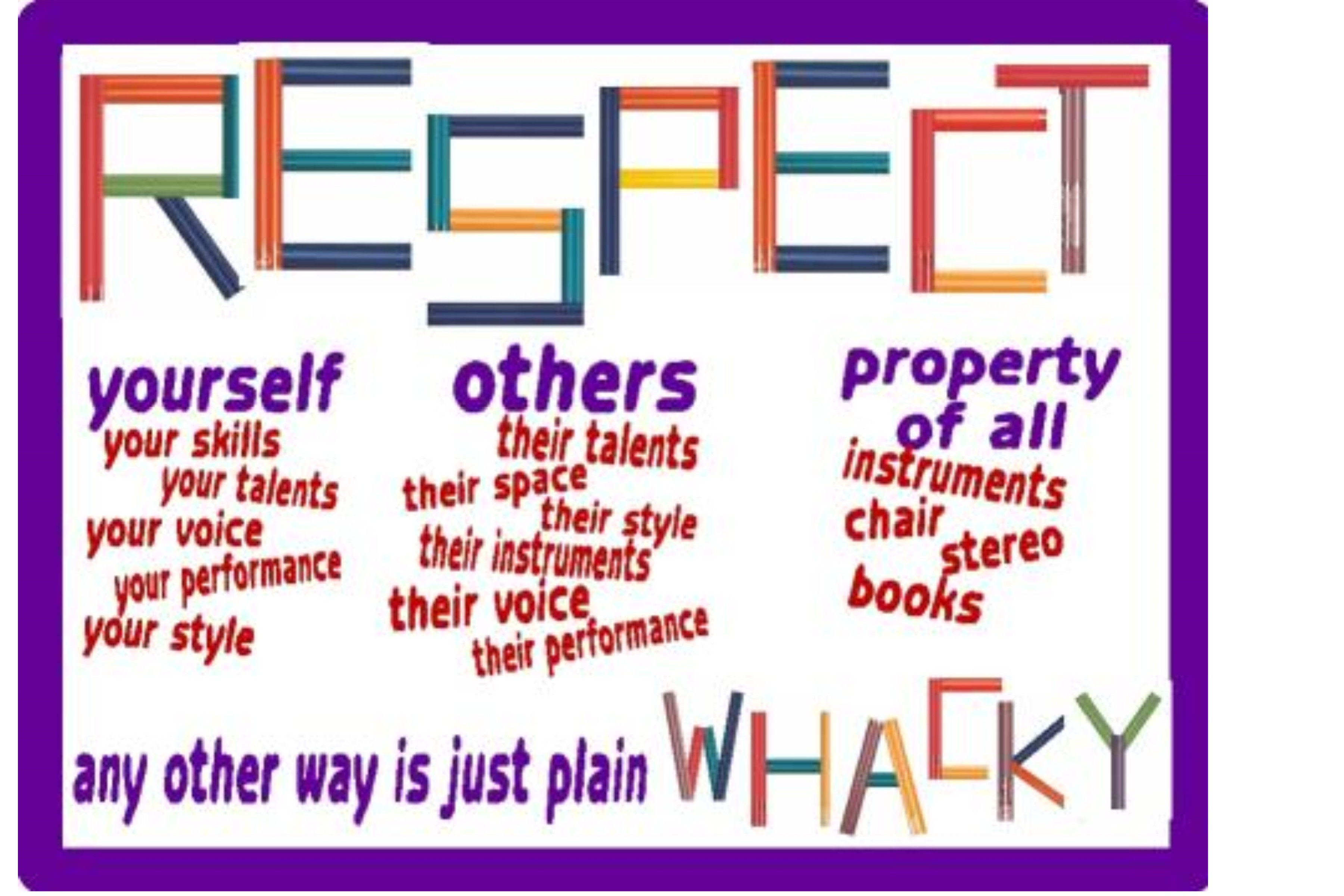 respect for others essay